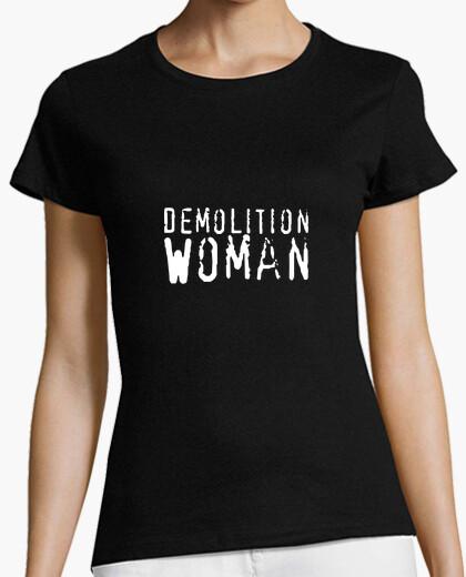 Camiseta Demolition Woman
