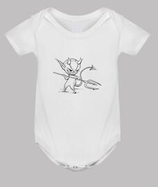 démon - corps de bébé