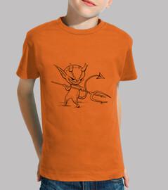 démon - t-shirt enfant
