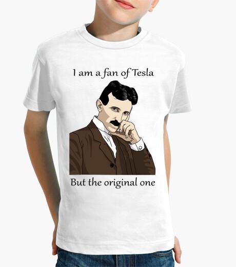 Ropa infantil Demuestra que eres fan de Tesla
