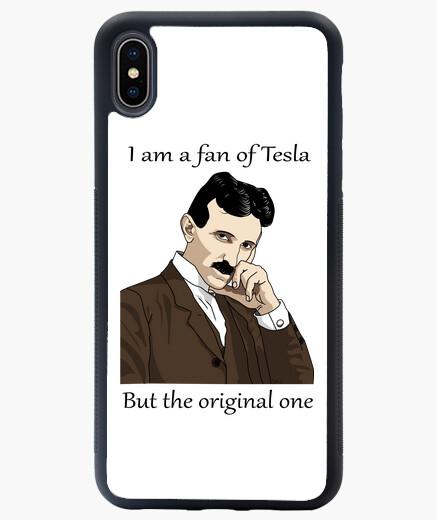 Funda iPhone XS Max Demuestra que eres fan de Tesla