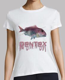 dentex spearfishing woman