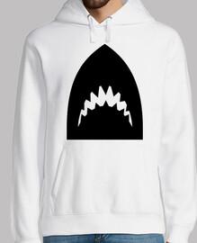 denti di testa di squalo