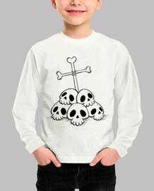 DEP - Camiseta infantil manga