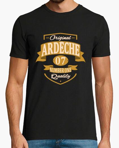 Tee-shirt departement ardèche 07