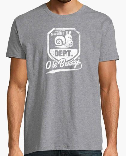 Tee-shirt Département de la Cagouille Escargot