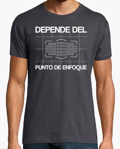 Camiseta depende del punto de enfoque