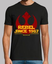 depuis 1987 rebelle
