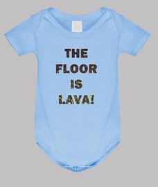 Der Boden ist Lava