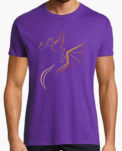 T-Shirt der drache