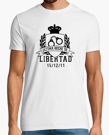 Tee-shirt dernière nuit de liberté ( homme s)