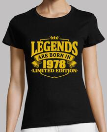 des légendaires sont nées en 1978