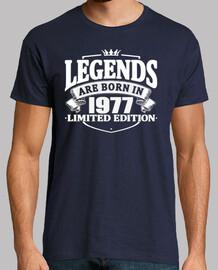 des légendes sont nées en 1977