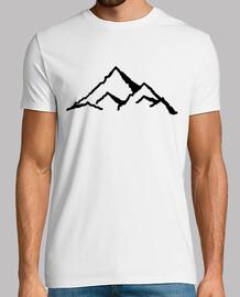 des montagnes