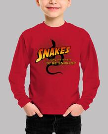 des serpents