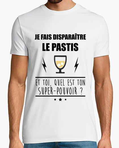 Camiseta desaparecer pastis humor alcohol