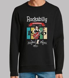 design 50s pinup Rocka bill et vintage