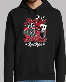 design bill rocka et rétro hotrod rocke