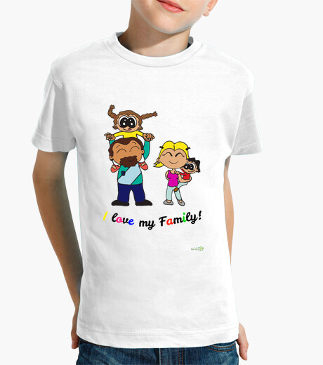 Design i love my family children's clothes