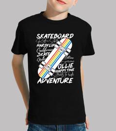 design mignonne de skateboard d'enfants