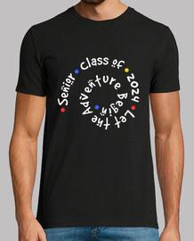 design no. 985211senior class of 2024 lascia che l'avventura abbia inizio