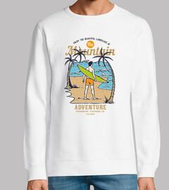 design rétro surf aventures de surf