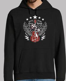 design rock n roll guitare rocka bill e
