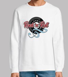 design rock n roll touche de vinyle sol