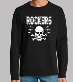 design rocka bill et skull rocker crâne