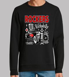 design rocker Rocka bill et Hotrod rétr