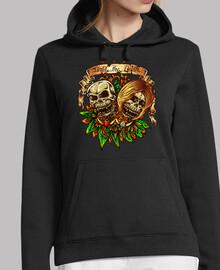 design skull crâne terreur vintage coul