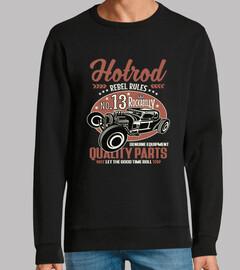 design vintage hotrod rocka bill et ret