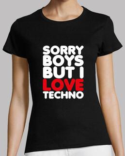 désolé mais j'aime les garçons techno