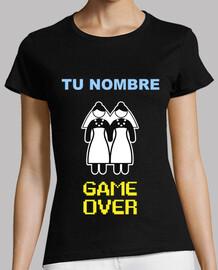 Despedida de Soltera NOMBRE PERSONALIZADO, GAME OVER Lesbianas **LEER DESCRIPCIÓN**