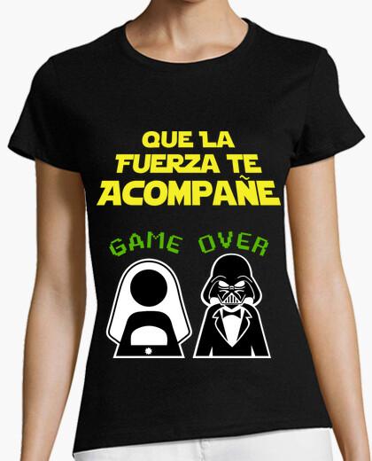 Camiseta Despedida de Soltero Lado Oscuro (Amigas)