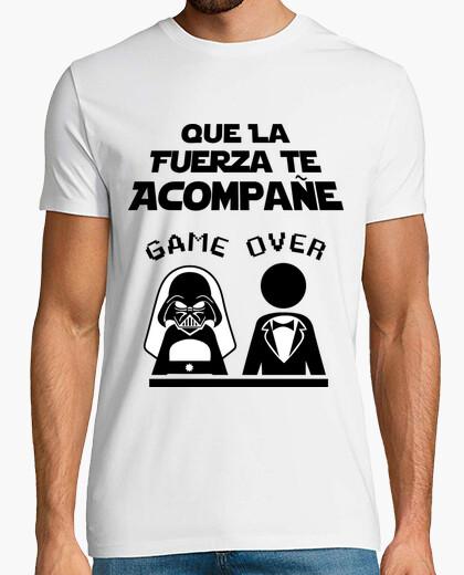 Camiseta Despedida de Soltero Lado Oscuro...