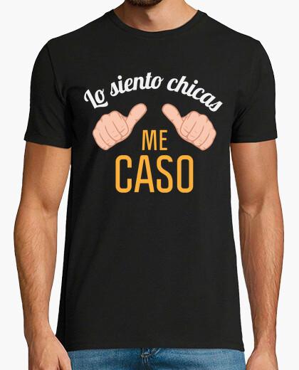 Camiseta Despedida de Soltero Lo Siento Chicas Me Caso