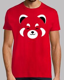 T Shirt Panda Roux Tee Shirts Homme Les Plus Vendus Tostadora Fr