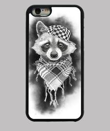 coque iphone 6 racoon