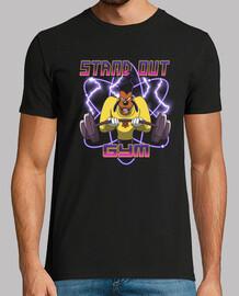 destacar la camisa de gimnasio para hombre