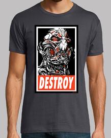 DESTROY-Ultron camiseta