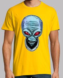 Destroy all Humans, camiseta Crypto, Hombre, manga corta, amarillo mostaza, calidad extra