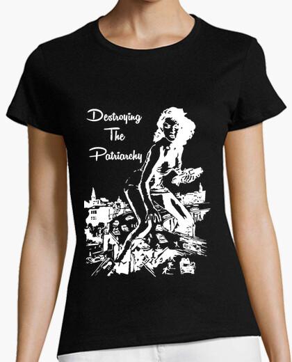 Camiseta Destroying the Patriarchy Alternative
