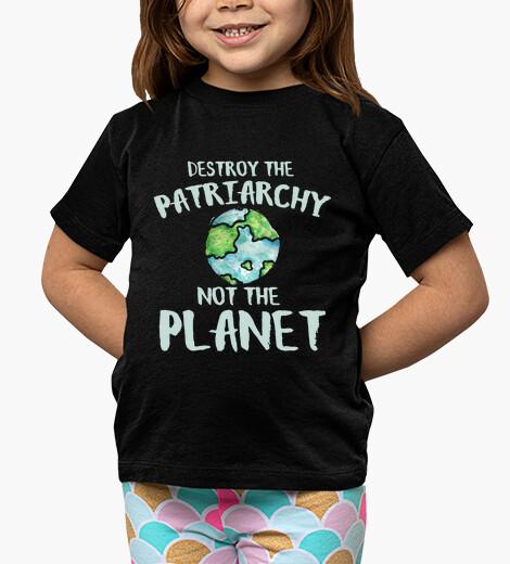 Ropa infantil destruir el patriarcado, no el planeta