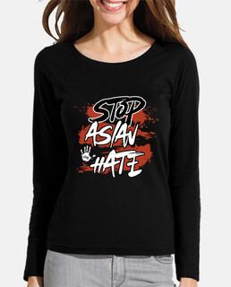 detener el odio asiático