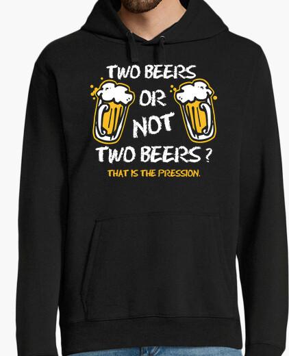 Sweat deux bières ou not deux bières