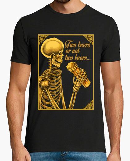 Tee-shirt deux bières ou not deux bières