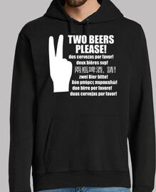 deux bières s39il vous plait!