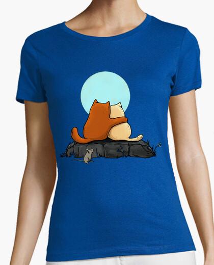 Tee-shirt deux chats