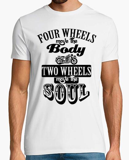Tee-shirt deux roues